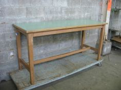 Solid Birch Work Table | Second Use, Seattle: Building Materials, Salvage, & Deconstruction