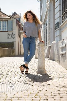 Fair Fashion Outfit Inspiration, FREITAG, MUD Jeans, Anina Mutter, Basel