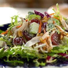 Waldorf Salad - This version of a classic salad is healthier than the usual restaurant version.