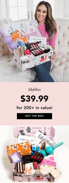 I am obsessed with FabFitFun! I've found so many great products in their boxes - skincare, beauty, wellness & more. Use code BRIGHT to get 20% OFF your 1st box!