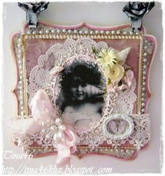 Card created by LLC DT Member Tina Klix, using a mix of papers from Maja Design's Vintage Summer  Spring Basics collections. The image is a digital vintage photo stamp from Crafts  Me.