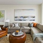 Modern furniture | Modern living room with luxurious furniture | http://discount-modern-furniture.com