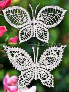 Mis Pasatiempos Amo el Crochet: Aqui hallarán varios modelos de hermosas mariposas