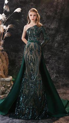 Sequin Evening Dresses, Long Sleeve Evening Dresses, Long Evening Gowns, Prom Party Dresses, Ball Dresses, Prom Gowns, Green Long Sleeve Dress, Green Wedding Dresses, Sparkly Prom Dresses