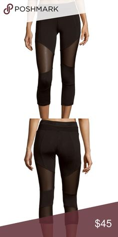 Electric Yoga mesh panel leggings size xl Electric Yoga mesh panel leggings size xl. These are a reposh because they did not fit me. I think they run a little small. No holds or trades. Asking what I paid for them. ❤️❤️❤️ Electric Yoga Pants Leggings