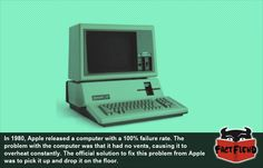 The Apple Computer so Bad It Failed 100% of the Time - http://www.factfiend.com/the-apple-computer-so-bad-it-failed-100-of-the-time/