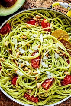 Quick spaghetti with avocado spinach sauce – Typical Miracle Indian Food Recipes, Italian Recipes, Ethnic Recipes, Second Harvest Food Bank, Healthy Diners, Healthy Cooking, Healthy Recipes, Sunday Dinner Recipes, Avocado