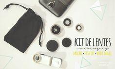 Tech | Kit de lentes universais para smartphone - nuages dans mon café