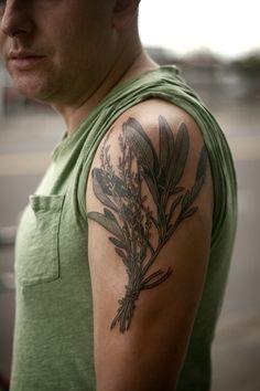 Alice Carrier is a tattoo artist at Wonderland Tattoo in beautiful Portland, Oregon. Flower Tattoo Designs, Tattoo Designs Men, Flower Tattoos, Herb Tattoo, Plant Tattoo, Elegant Tattoos, Beautiful Tattoos, Couple Tattoos, Tattoos For Guys