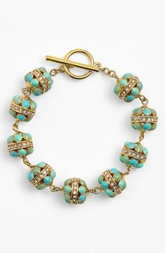 Lauren Ralph Lauren Station Toggle Bracelet | Nordstrom