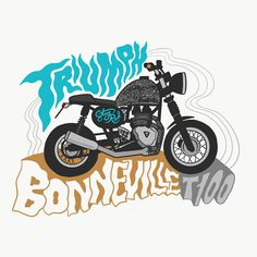 VO | Valérie Oualid : Agent d'illustrateurs | Chris Piascik | Triumph Triumph, Daily Drawing, Pictures To Draw, My Ride, First Time, Illustration, Motorcycle, Drawings, Artist