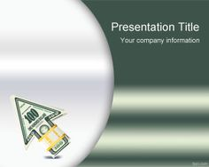 Life Insurance PowerPoint template is a free green template with money arrow and ready to be used for life insurance projects