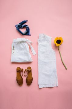 White on white is one of our favorite summer trends, and it's super easy to wear. Add a couple of colorful accessories to complete the look. Browse all new white breezy pieces from Gap just in time for the summer season.