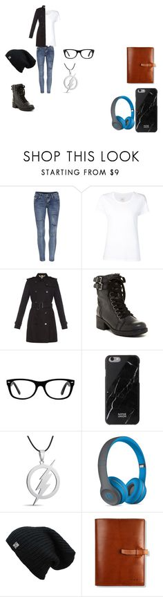 """Untitled #43"" by lawzout ❤ liked on Polyvore featuring Max 'n Chester, Burberry, MIA, Ray-Ban, Native Union and Beats by Dr. Dre"