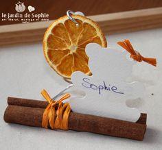 marque place cannelle orange - Le blog de Sophie
