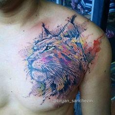 Lynx Watercolor