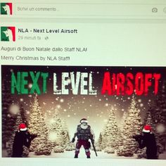Marry Christmas by NLA Staff - Buon Natale dallo Staff NLA! #Christmas #Natale #airsoft #holidays #snow #tactical