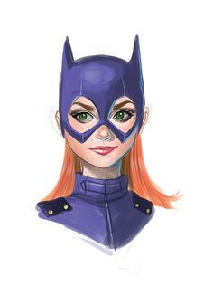 Batgirl Study by chrissie-zullo.deviantart.com on @deviantART