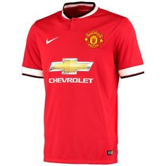 Nike Manchester United Home Shirt 2014/15 - Kids Manchester United Home Shirt 2014/15 - Kids Let your child have a great game every time with the 2014/15 Manchester United Kids Home Shirt which pays homage to the Red Devils with MUFC tradition in ev http://www.MightGet.com/february-2017-2/nike-manchester-united-home-shirt-2014-15--kids.asp