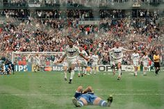 France 0 Italy 0 p) in 1998 in Paris. The French team celebrate winning the penalty shootout in the World Cup Quarter Final. 1998 World Cup, World Cup Final, Finals, Dolores Park, France, Sports, Travel, Buenos Aires Argentina, Hs Sports