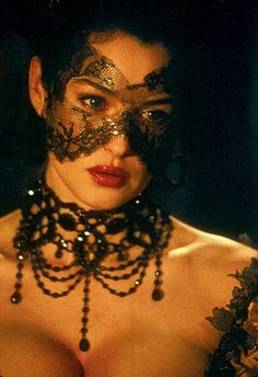 "Monica Belluci (from Brotherhood of the Wolf) as ""The Countess"" as she might have seemed at the masked ball"