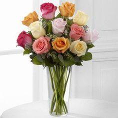 Graceful Grandeur Rose Bouquet