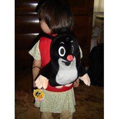 Little Mole Backpack for 0-5 year olds / Kisvakond Hatizsak / Der Kleine Maulwurf Rucksack 30 cm / Batuzek Krtek 99904 / Washable Plush Backpack