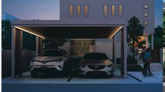 Modern Carport, Outdoor Decor, Home Decor, Decoration Home, Room Decor, Home Interior Design, Home Decoration, Interior Design