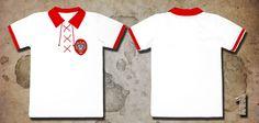 Koszulka wzorowana na modelu reprezentacji Polski z roku 1924.