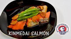 Kinmedia salmon  Comida Japonesa