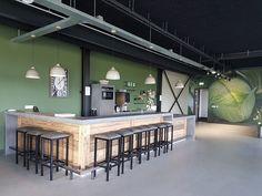 Kantoorinrichting Industrieel Werkcafe Bar