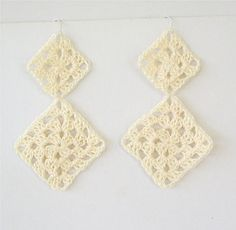 30 minute earrings to crochet a collection of free crochet motif one stitch designs free crochet pattern long granny dangle earrings dt1010fo