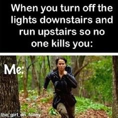 Turning off the lights