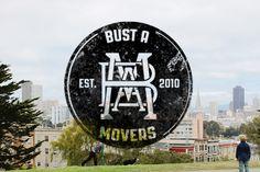 Bust A Movers - San Francisco by Lauren Moyer, via Behance