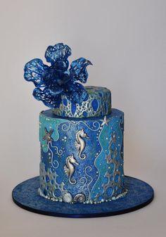 Ocean of Love by ArchiCAKEture - http://cakesdecor.com/cakes/280960-ocean-of-love