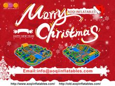 Aoqi Inflatables Ltd.-one of the most professional inflatable games factories in China, is engaged and specialized in designing and manufacturing inflatable games,advertising inflatables ect. Inflatable Bouncers, Merry Christmas, Merry Little Christmas, Bounce Houses, Wish You Merry Christmas
