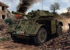 British Armored Car: Staghound
