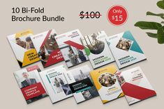 Bi-fold Brochure Template Bundle by Pixelpick on @creativemarket It's made with Photoshop and easily editable text, logo, color, image, and all layers are properly organized. In this PSD file. #brochure #bifold #bifold_brochure #brochure_template #proposal #annualreport #squre_brochure #bifold_design #elegant #flyer #corporate_bifold #business_bifold #a4_brochure #brochure_template #corporate #business #multipurpose #promotion #pixelpick Bi Fold Brochure, Brochure Template, Marketing Materials, Messages, Templates, Corporate Business, Logo Color, Proposal, Creative