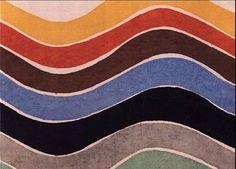 """apeninacoquinete: """"Sonia Delaunay. On fabric. """""""