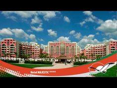 Hotel MAJESTIC - SUNNY BEACH - BULGARIA Sunny Beach, Sunnies, Entertaining, Mansions, House Styles, Beaches, Travelling, Holidays, Bulgaria