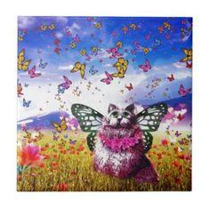 Butterfly Fairy Kat Tile