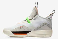 4c55a263 Air Jordan 33 Vast Grey Left Jordan Release Dates, Dope Music, Jordan Shoes,