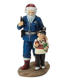 """Precious Moments - """"Officer S. Claus"""", The Caring Santa Collection, Resin Figurine Christmas Moose, Christmas Nativity Scene, Nordic Christmas, Nutcracker Christmas, Santa Figurines, Christmas Figurines, Nativity Scene Sets, Santa Claws, Mouse Costume"""