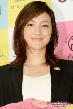 2014年度高知家の「おすそわけ」記者発表会に出席した広末涼子