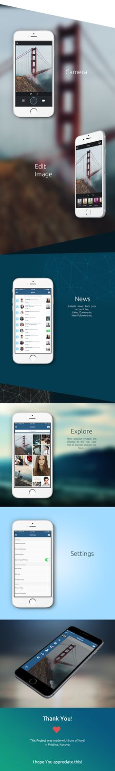 Instagram Redesign on Behance