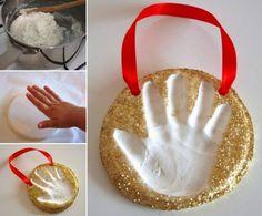 Easy Christmas Handprint Footprint Art Ideas   The WHOot
