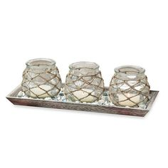 http://www.bedbathandbeyond.com/store/product/san-miguel-jute-covered-candle-holders-with-decorative-tray-set/1042315216?categoryId=12146