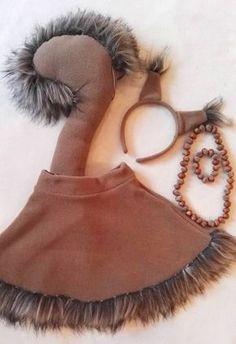 Eichhörnchen Girl Kostüm / Kinder Eichhörnchen von Divendi auf Etsy