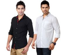 Inkfruit Offers: Buy any 2 Solid Shirts at Rs.699 only