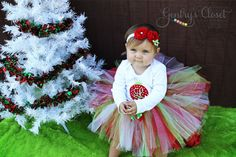 Baby Girl Christmas Ornament Long Sleeve Infant Bodysuit or shirt. Personalized monogram. Holiday Photos Christmas. Xmas outfit.